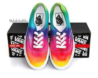 Tie Dye Rainbow Vans