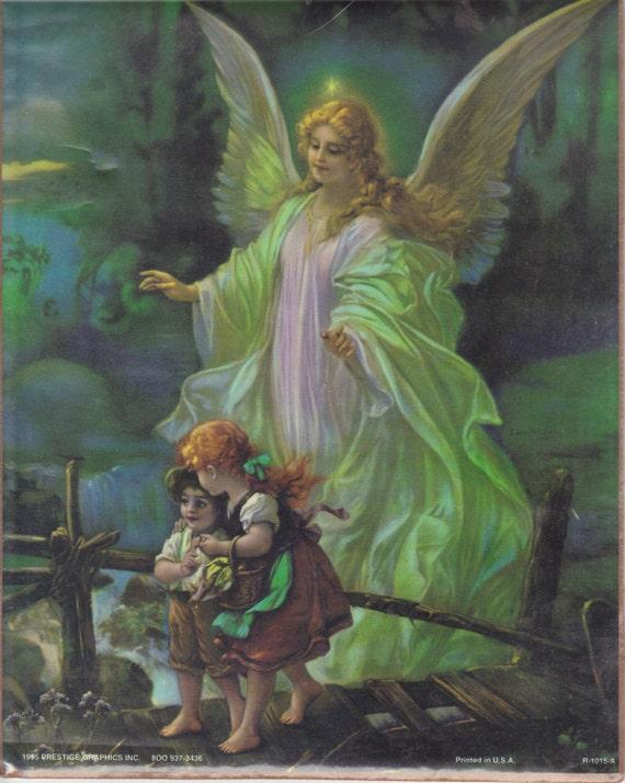 Angelo custode con bambini attraversando il ponte famoso foto - Botero uomo in bagno ...