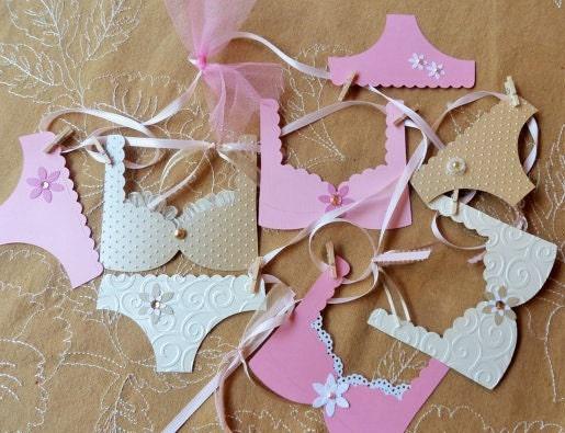 Lingerie bachelorette party banner decoration with cottage for Bachelorette decoration