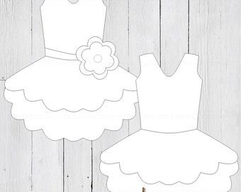 tutu dress banner templates 2 total ballerina princess clip art first birthday. Black Bedroom Furniture Sets. Home Design Ideas