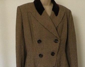 1940s Tweed Suit