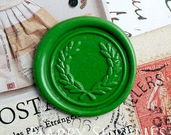 Buy 1 Get 1 Free - 1pcs The olive branch Gold Plated Wax Seal Stamp (WS288)