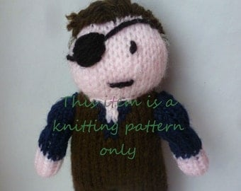 PDF knitting pattern: The Governor (The Walking Dead)