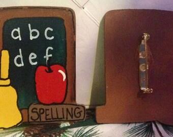 ABC Blackboard Pin