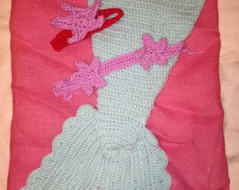 Crochet Mermaid Set