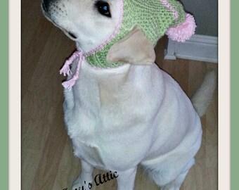 Dog Beanie, Crochet dog beanie