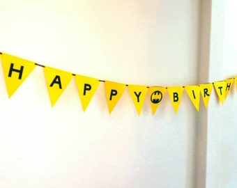 Batman Birthday Party Banner also available Batgirl Party Banner Batman Theme birthday