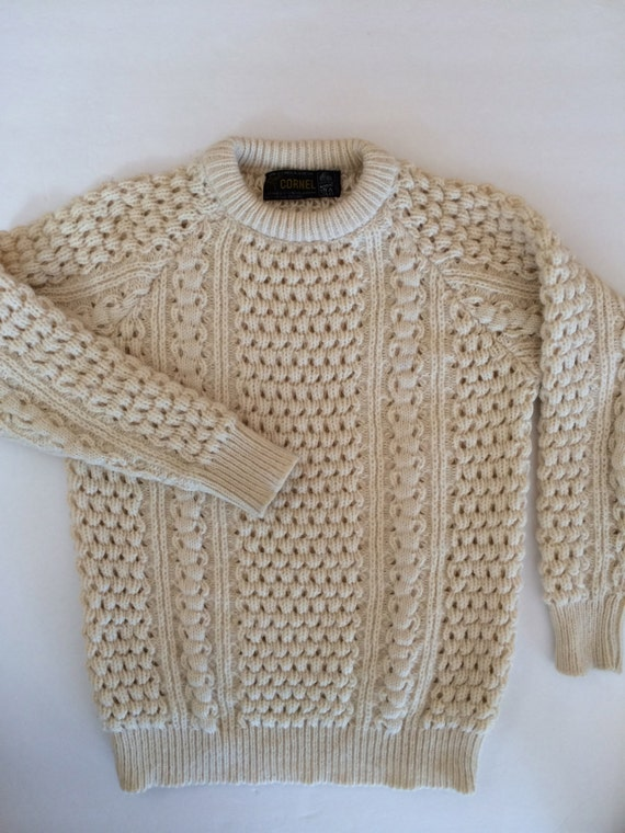 Mens Thick Wool Sweater