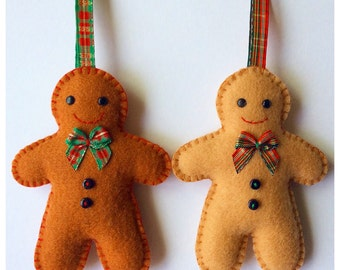 Gingerbread Man PDF Sewing Pattern and Tutorial, Instant Download, Easy Step-by-Step Instructions