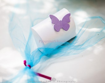 Wedding Favor Handmade Box Paper Treasure Boxes Jewelry Gift Boxes. Butterfly Boxes. Customizable Favors. Be Creative Choose Color&Design