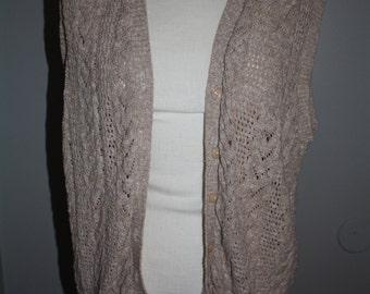 Vintage slouchy sweater vest