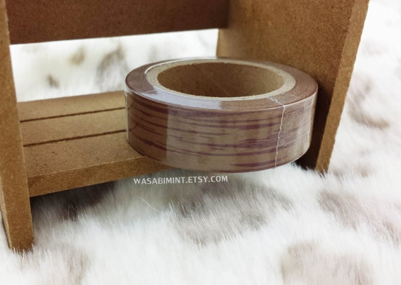 Wood Texture: Adhesive Tape