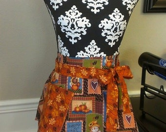 Fall Fun Woman's Skirt Apron