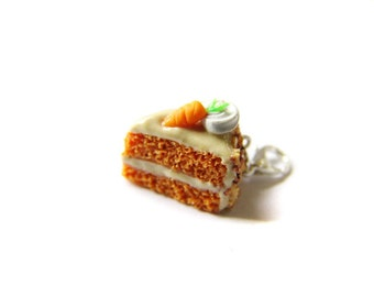Clip Art Of Carrot Cake : Cheese Platter Charm Collection Polymer Clay Cheese Charm