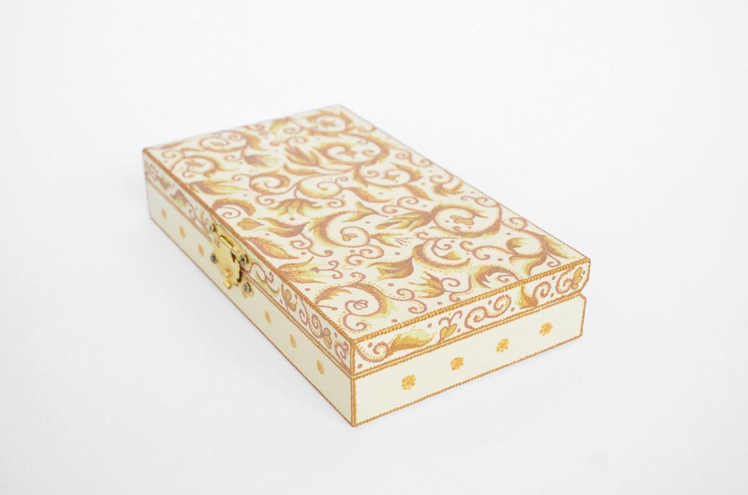 Decorative Jewelry Boxes Ideas : Sale hand painted jewelry box cash flat