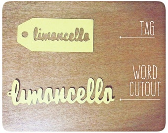 Limoncello Tags and Labels (x6)