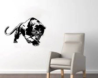 "Panther Large Wall Decal 32""x22"""