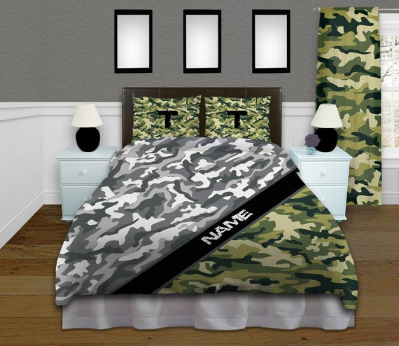 Camo Bedding Camouflage Comforter Bed By Eloquentinnovations