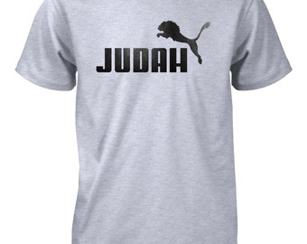 AproJes Lion of Judah Israel Tribe Jesus God Christian Tshirt