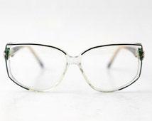 NOS Divina by Gambini eyeglasses / Vintage Glasses / Deadstock Frames / Womens eyeglasses / made in Italy - 80s