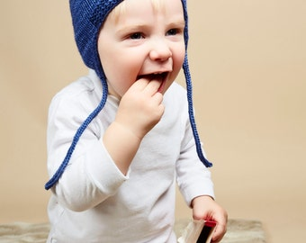 Childs Winter Hat with Ear Flaps
