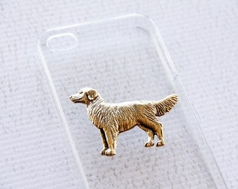 Retriever iPhone 4 and 4S Apple Protective Hard Cover Case with Gold Plating iPhone 6