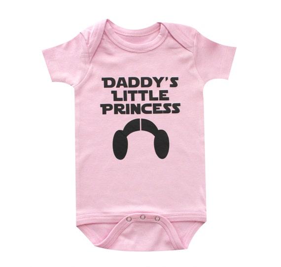 Star Wars Baby Daddys Little Princess Princess Leia Baby