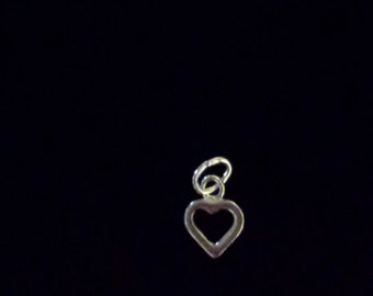 Additional Sterling Silver Heart Charm