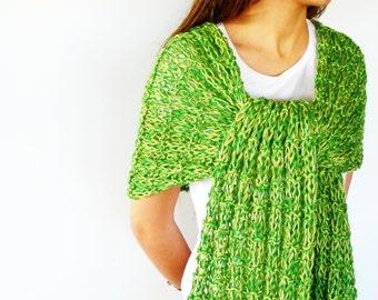 Bufanda de verano verde