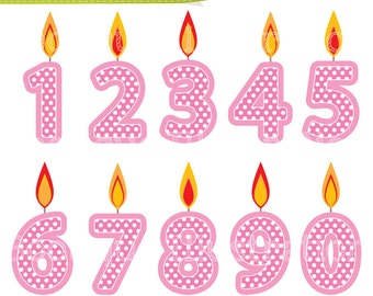 Free Clip Art Birthday Candles Pictures   Photobucket