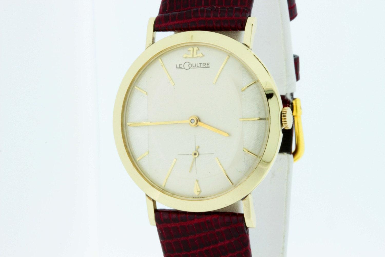 lecoultre 10k gold filled wrist