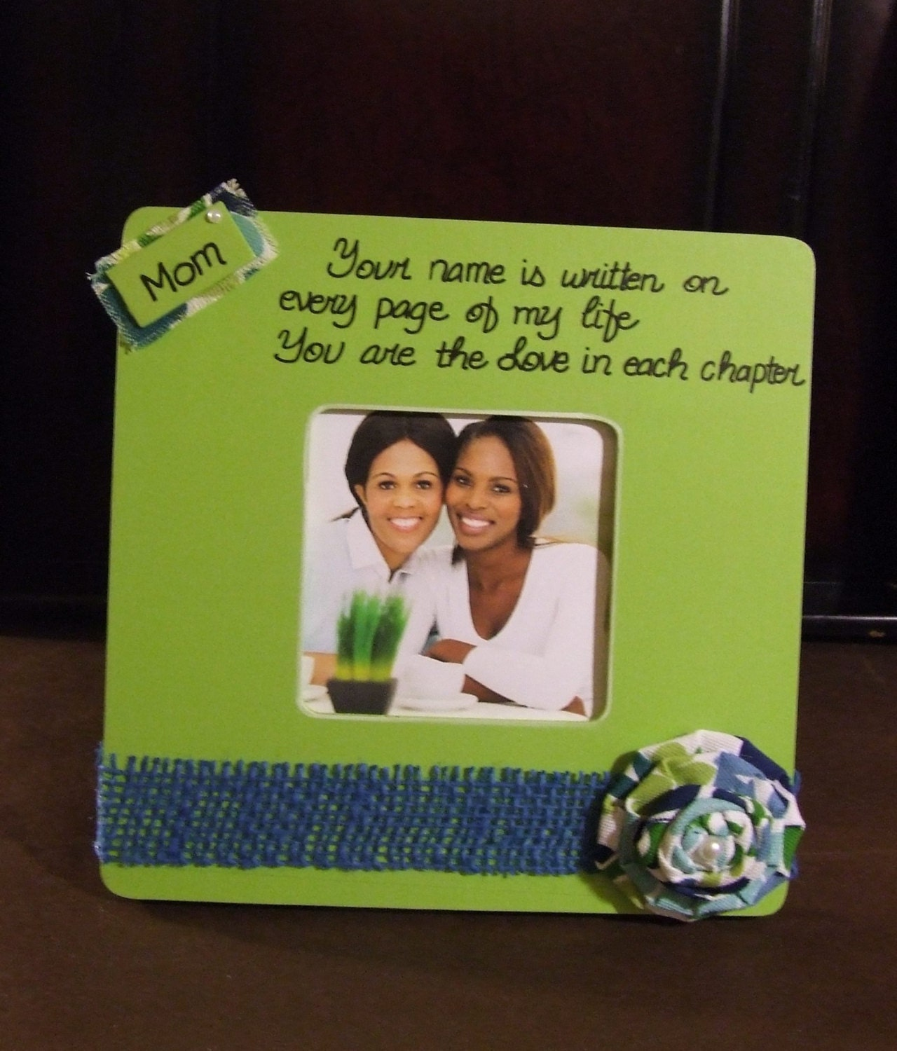 Christmas gift for mom personalized frame mom mother daughter for Christmas gift ideas for mom from daughter