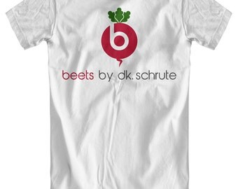 Beets by DK Schrute - Dwight Schrute / The Office Inspired White T-Shirt