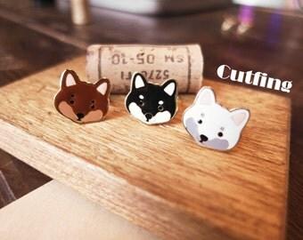 Dog & Cat - Shiba Inu Dog Earrings