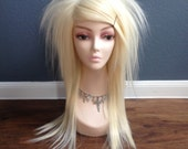 Sin Straight Layered Wig in Platinum Blonde