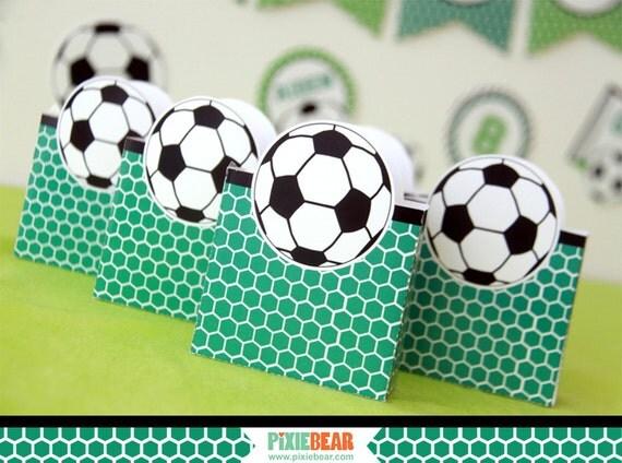 Soccer Birthday Favor Box
