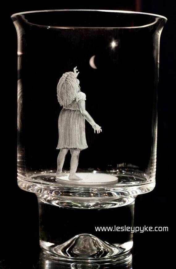 Dartington Glass Candle Holder