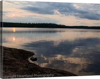Minnesota Wall Art Canvas, Landscape Photography Prints, Lake Decor Wall, Nature Prints on Canvas, Large Wall Art, Water Photography Gifts