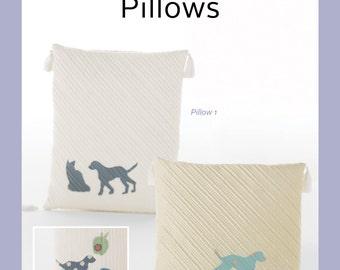 Yoshiko Jinzenji's Quilted Silhouette Pillows Pattern