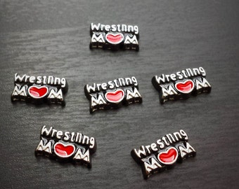 Wrestling Mom Floating Charm for Floating Lockets-Gift Idea