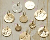 Add a Charm, Personalize Your Necklace, Customize Your Necklace, Add a Charm to Your Necklace, Initial Charms