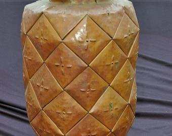 Pineapple Copper Sculpture