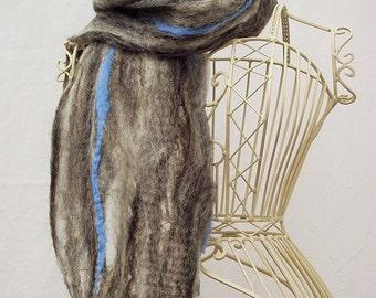 Mens Jacob Humbug cobweb scarf