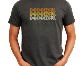 Dodgeball Retro Color T-Shirt