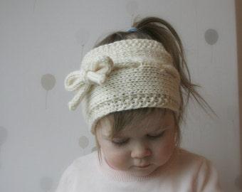 KNITTING PATTERN simple headband Lisa (toddler, child, adult sizes)