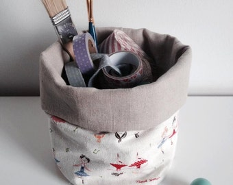 Mini fabric bin