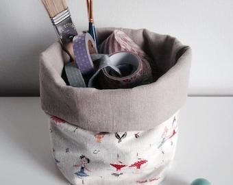 Mini fabric bin