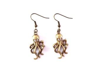 """Earrings """"Octopus"""""""