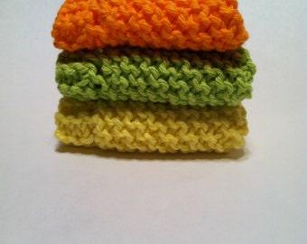 Dish Cloth Trio - Lemon, Lime and Orange