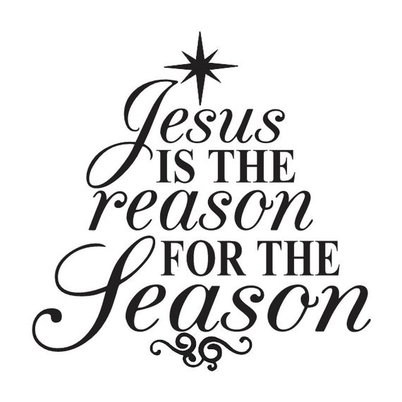 Jesus Is The Reason For The Season Christmas Craft